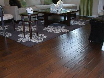 Laminate flooring is easy to install